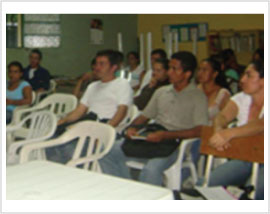 Adult literacy class - Set up adult classes for grades 6-9 in Berlin Village, Colombia.